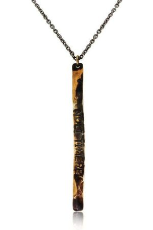 WINDOW DRESSING THE SOUL Men Necklaces - WDTS Sheffield - Hand Hammered Necklace - NOLI TIMERE - Mixed Finish