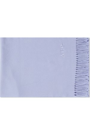 A.P.C. Men Scarves - Ambroise Embroidered Scarf