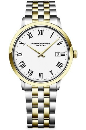 Raymond Weil Toccata Round White Two-Tone Gold & Stainless Steel Bracelet Watch