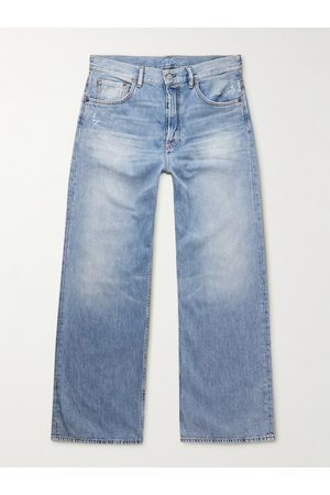 Acne Studios Flared Distressed Jeans