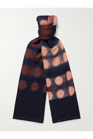 11.11/eleven eleven Tie-Dyed Wool Scarf