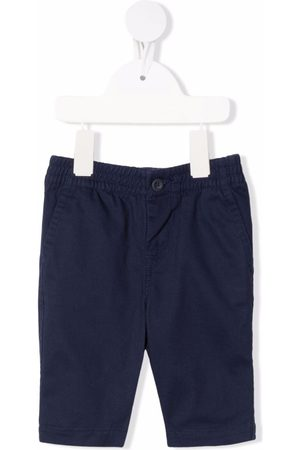 Ralph Lauren Baby Chinos - Embroidered-logo elasticated trousers