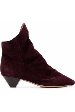 Isabel Marant Suede-leather pointed boots