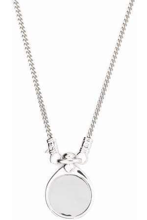 TOM WOOD Necklaces - Finn Pendant sterling- necklace