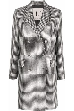 L'Autre Chose Pleated double breasted coat