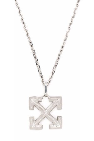 OFF-WHITE MELTED ARROW NECKLACE METAL NO COLOR