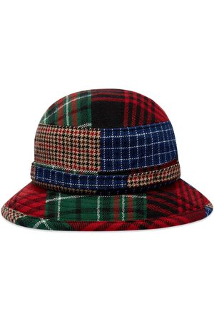 Beams Dobby Patchwork Jungle Hat