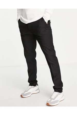 Topman Recycled fabric slim trousers in