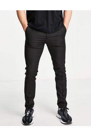 Topman Recycled fabric skinny trousers in