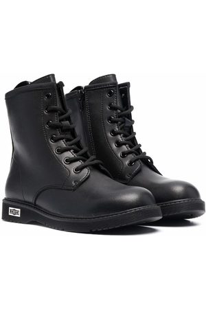 Cult Leather combat boots