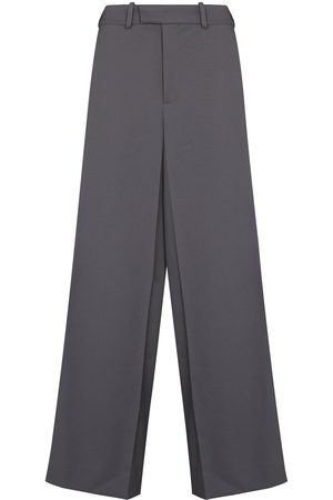 OFF-WHITE Men Formal Pants - OFF DRILL SLIM BOX LSE TRS GRY