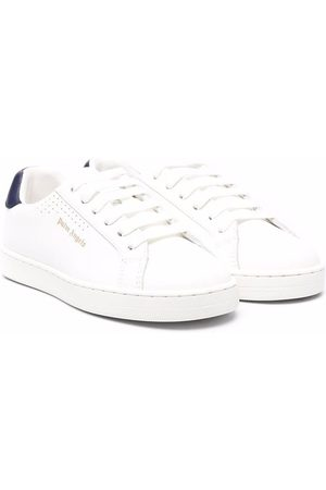 Palm Angels Girls Sneakers - Logo-print low-top trainers