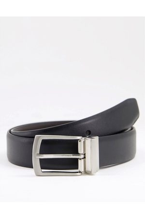 French Connection Reversible belt in & brown