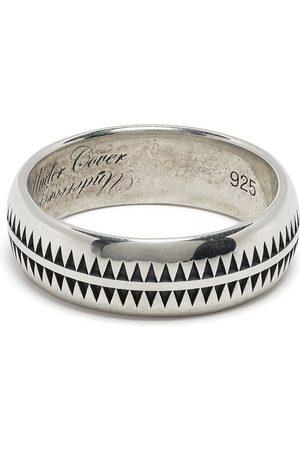 UNDERCOVER Polished engraved ring