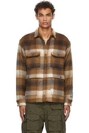 Reese Cooper Brushed Wool Flannel Button-Down Shirt
