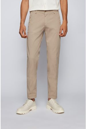 HUGO BOSS Men Chinos - RICE3-D Slim-fit Chinos in Stretch Cotton 50325936 294