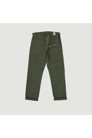 or slow Fatigue Pants GREEN orSlow
