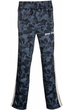Palm Angels Men Tracksuit - MEN'S PMCA007F21FAB0041001 POLYESTER JOGGERS