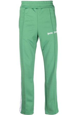 Palm Angels MEN'S PMCA007F21FAB0015501 POLYESTER JOGGERS