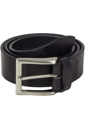 40 Colori Men Belts - Solid Distressed Leather Belt in