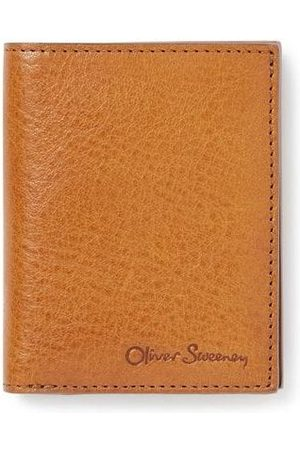 Oliver Sweeney Ayre Leather Fold Over Wallet OS, Colour: Tan