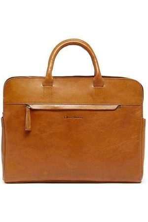 Oliver Sweeney Cranstall Leather Brief Case OS, Colour: Tan