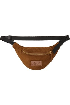 Noah NYC Brown Suede Fanny Pack