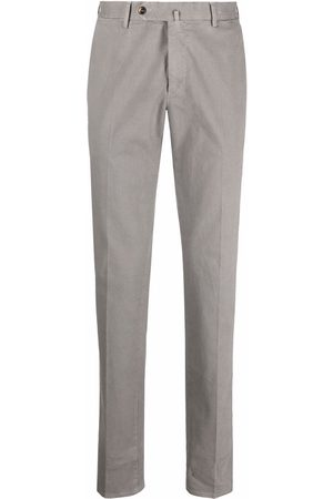 PT01 Mid-rise cotton chino trousers