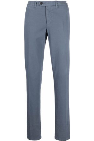 CANALI Mid-rise cotton chino trousers