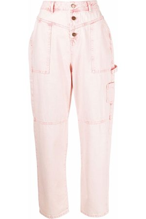 Bash Tapered high-waisted trousers