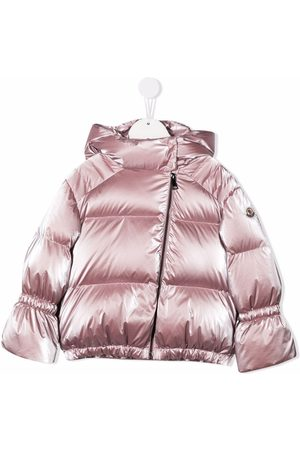 Moncler Padded down hooded jacket