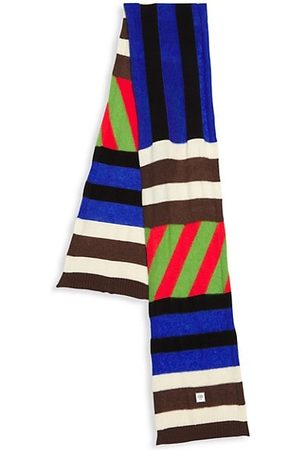 Opening Ceremony Patchwork Striped Scarf