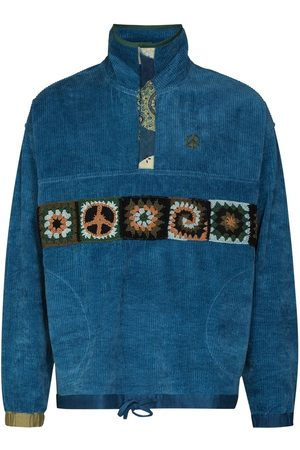 Story STORY INDIGO CORD POLITE PULLOVER ZP SWT
