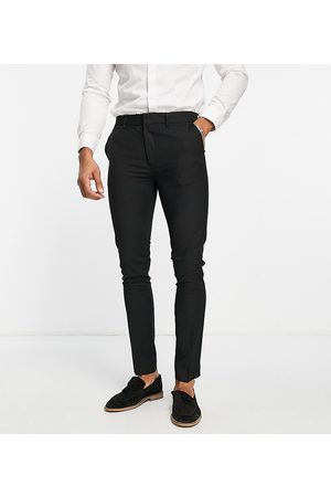 Topman Recycled fabric super skinny trousers in