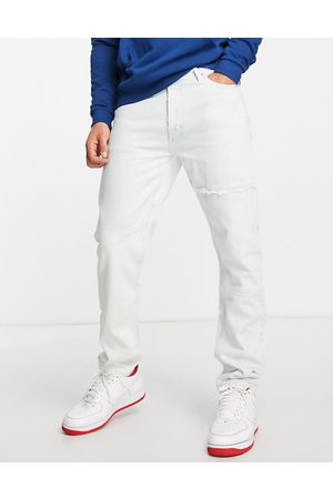Tommy Hilfiger Dad regular tapered fit repurposed jeans in light wash
