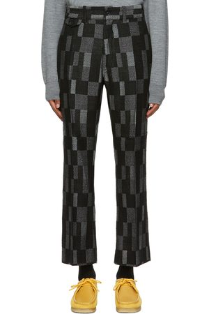 Pins & Needles Wool Checkered Trousers