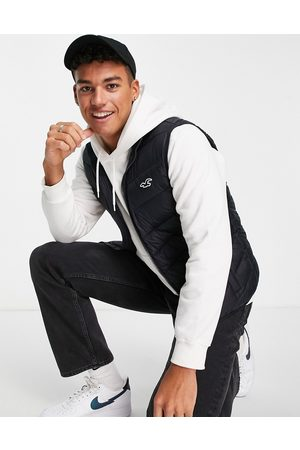 Hollister Icon logo puffer vest in