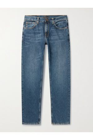 Nudie Jeans Gritty Jackson Straight-Leg Organic Jeans