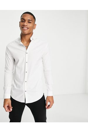 River Island Long sleeve muscle shirt in
