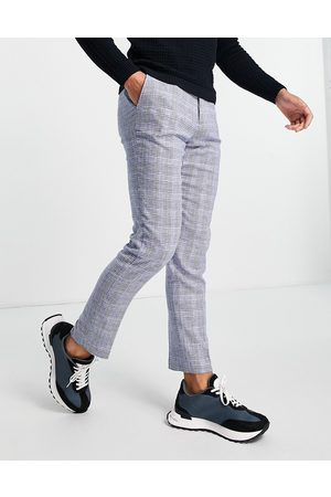 French Connection Slim fit checked suit trousers