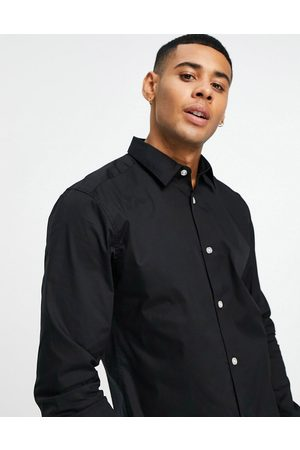 Only & Sons Long sleeve stretch shirt in