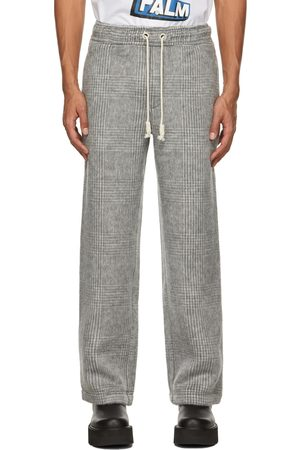 Palm Angels Wool Loose Trousers