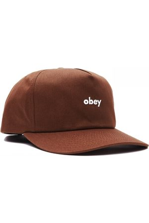 Obey Men Hats - Clothing Lowercase Snapback Hat - ONE SIZE, Colour: