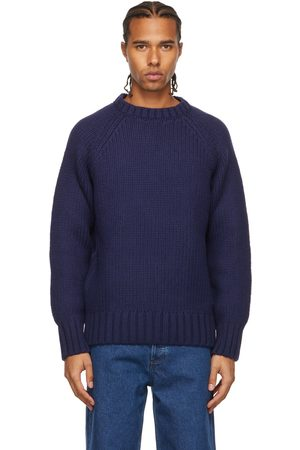 A.P.C. Navy Suzanne Koller Edition Ethan Sweater
