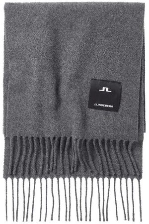 J Lindeberg Champ Solid Wool Scarf