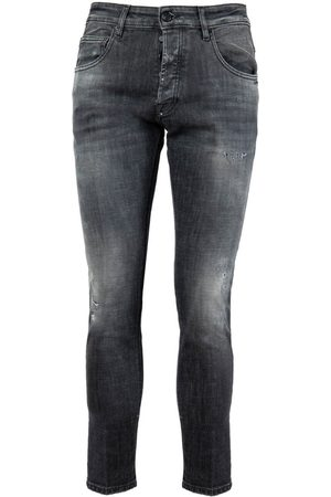 Don the Fuller JEANS YAREN TAPERED FIT ANTHRACITE