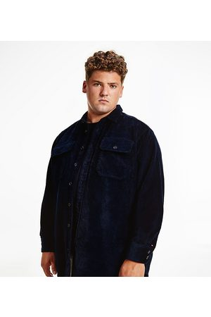 Tommy Hilfiger Men Casual - Big & Tall heavyweight cord overshirt in