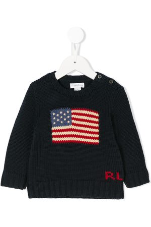 Ralph Lauren Logo knit sweater