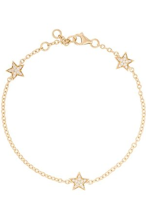 ALINKA 18kt yellow gold STASIA MINI Triple Star diamond bracelet