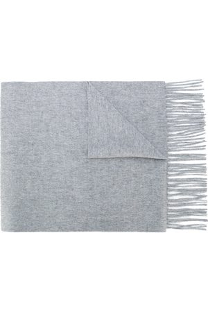 N.PEAL Men Scarves - Knitted cashmere scarf